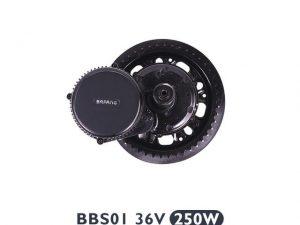 Bafang BBS-01 36V 250W Middenmotor e-bike ombouwset