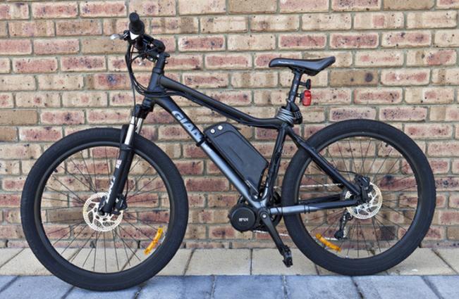 Omgebouwde elektrische fiets Bafang bbs02 conversieset