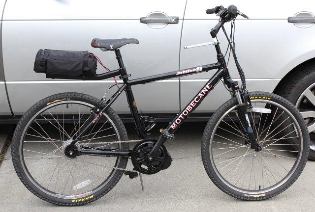 gewone fiets met bafang ombouwset