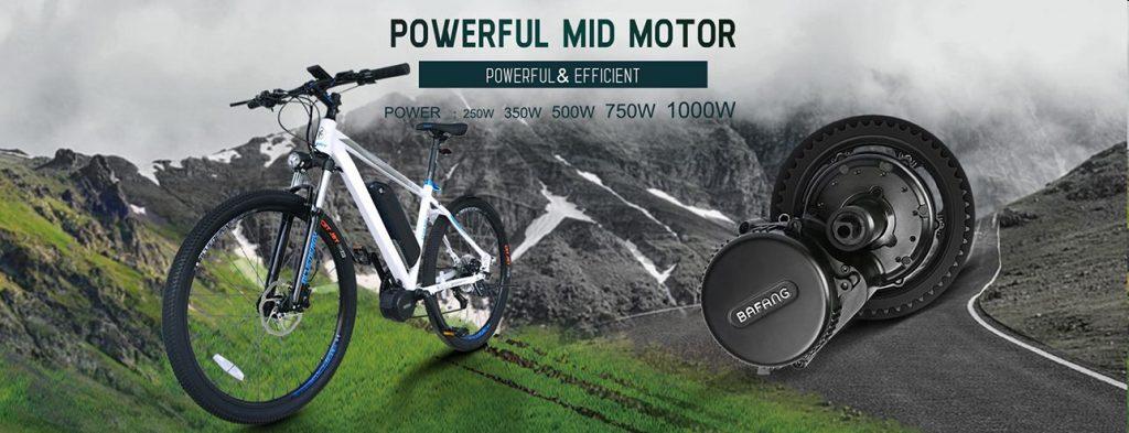 Zelf een E-bike maken met een ombouwset van Bafang BBS01 BBS02 BBSHD