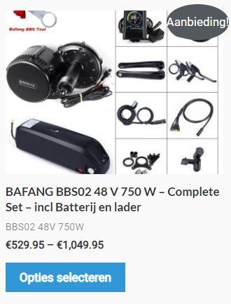 BAFANG BBS02 750Watt kopen