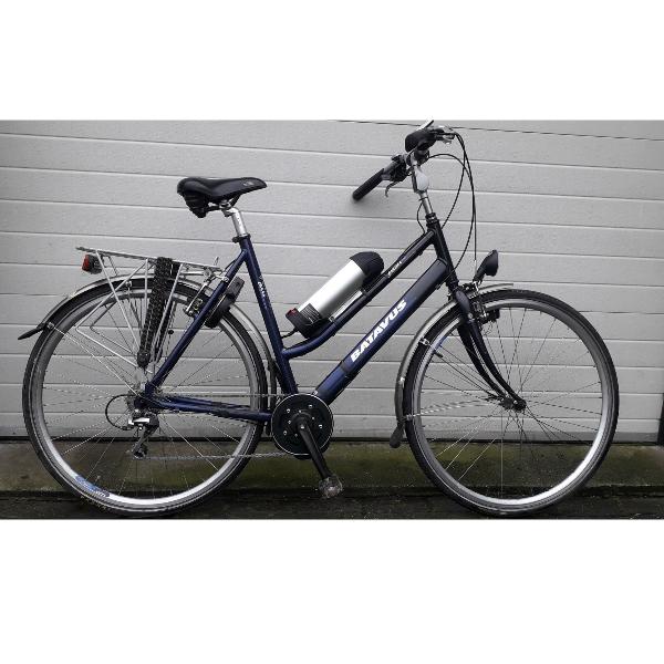 Batavus fiets met TSDZ2 ebike ombouwset