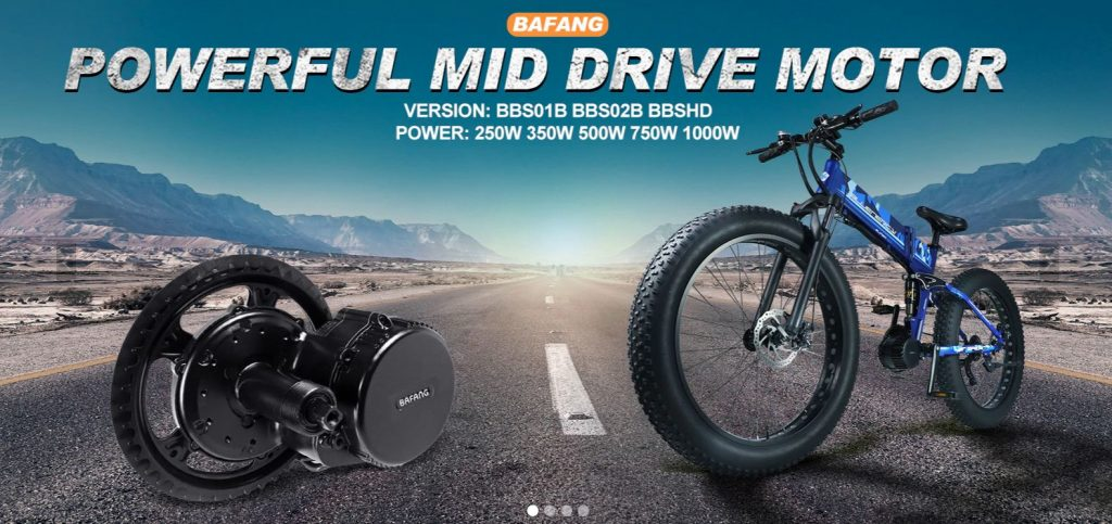 Bafang powerful mid drive motor