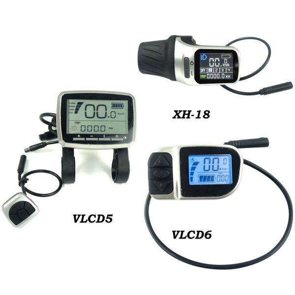 TSDZ2-Display-VLCD5-VLCD6-XH18