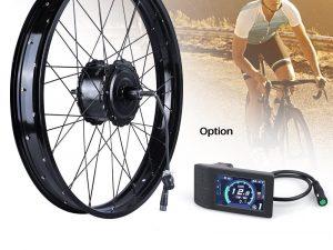 Bafang fat bike hub motor ebike ombouw set
